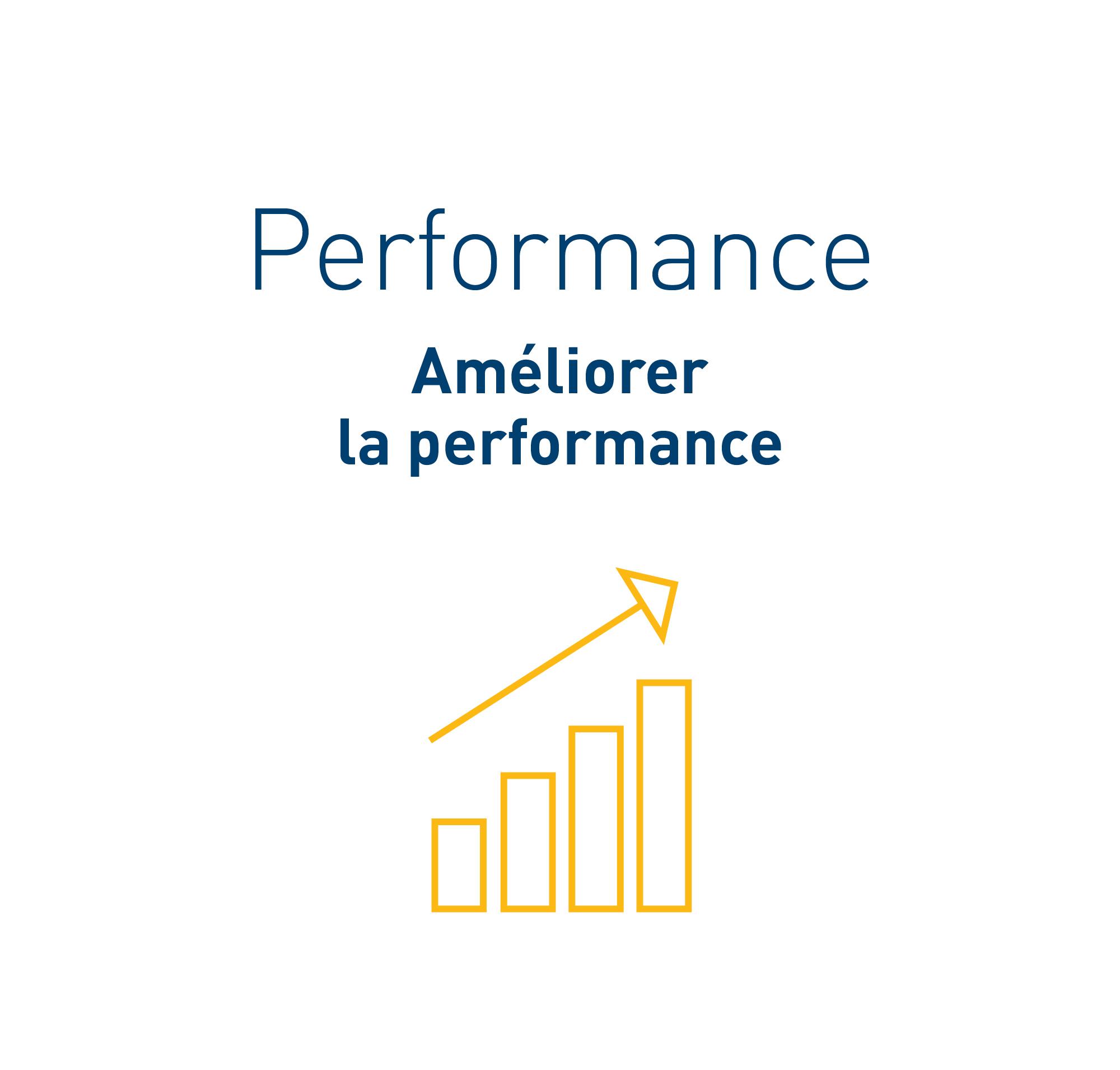 Image dans le texte: Performance – améliorer la performance